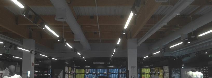 tienda adidas instalacion aire acondicionado