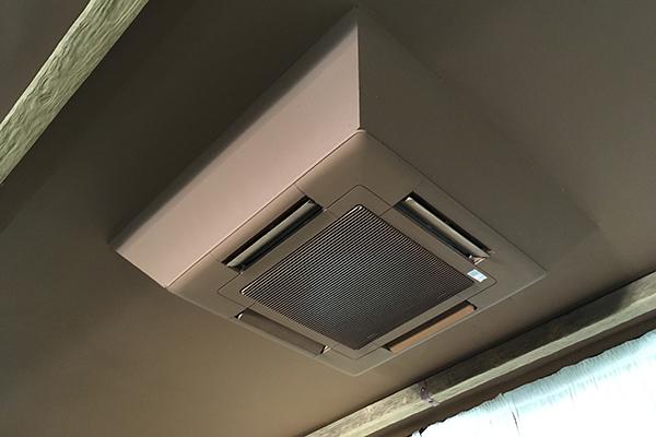 aire acondicionado techo climatizacion